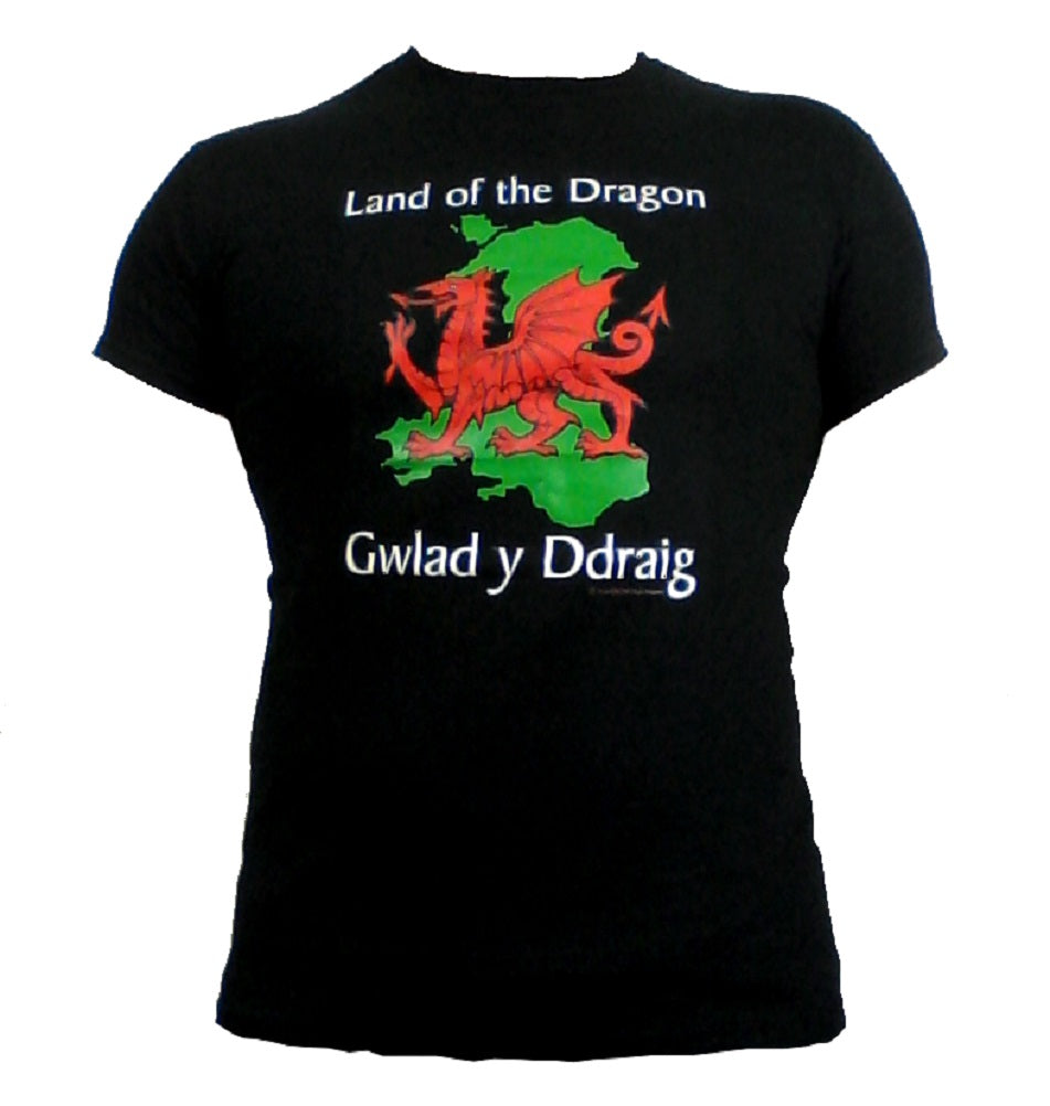 Wales Land of The Dragon T-Shirt [mk]