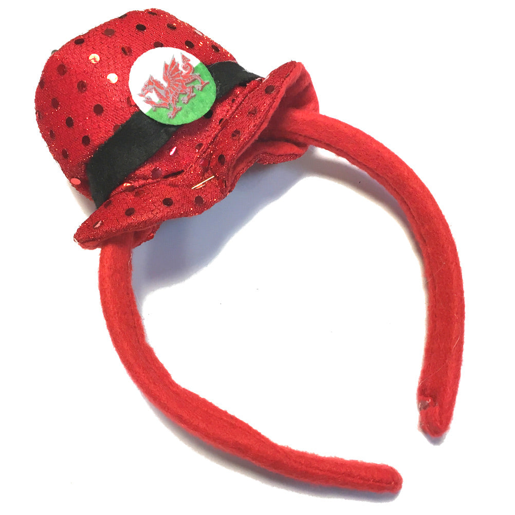 Wales Mini Topper Headband [wa134]