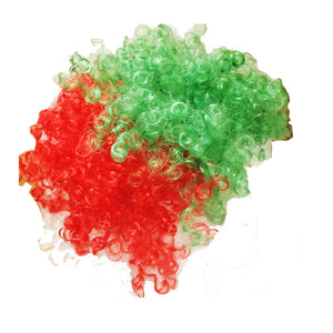 Wales RGW Curly Supporter Wig