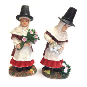 "St Davids Day Welsh Lady 7""Resin Figure [wg11]"