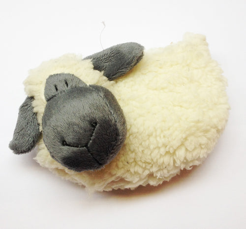 Welsh Sheep Wooly Zip-Up Purse