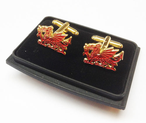 Wales Dragon Cufflinks [wx93]