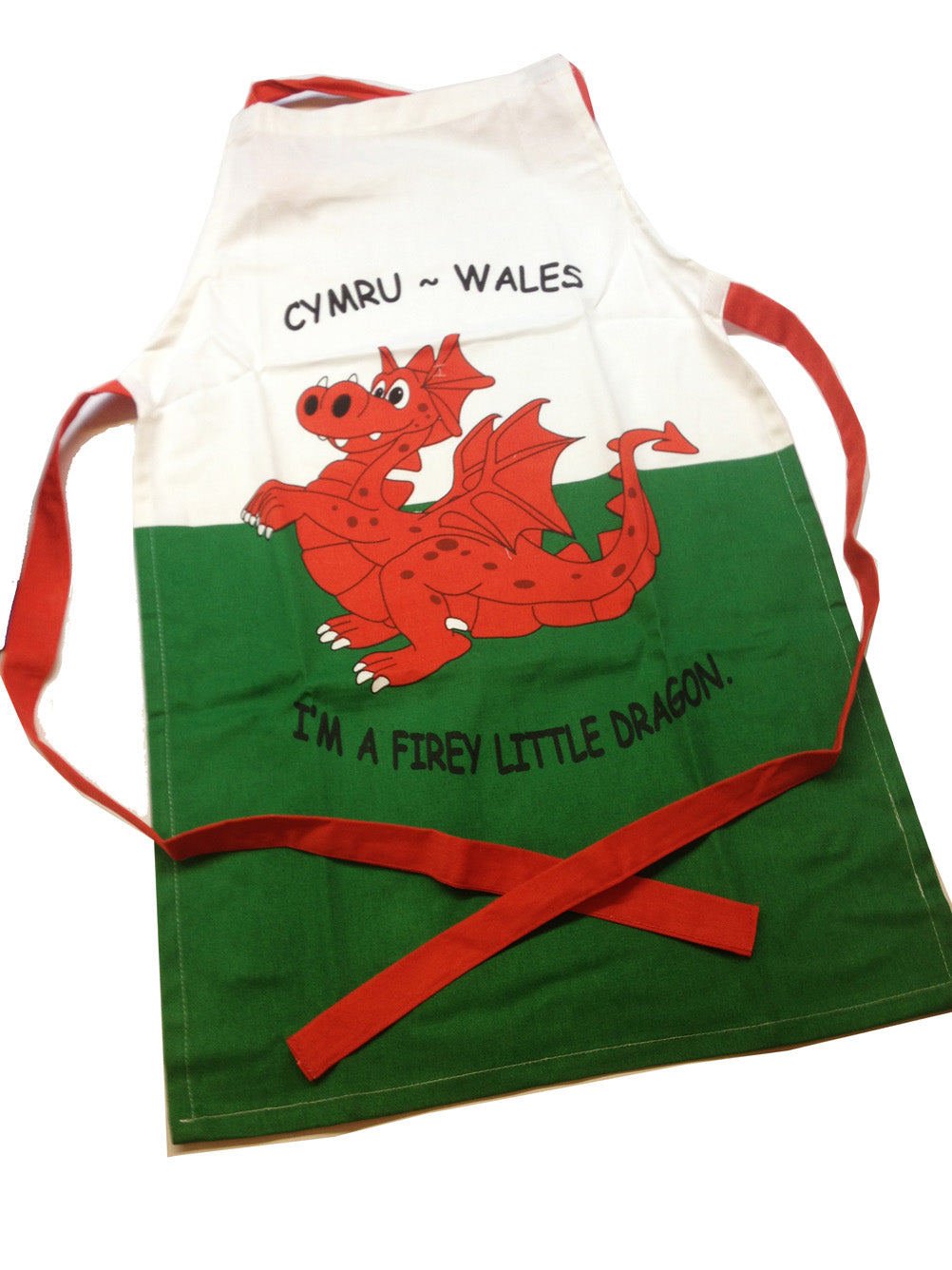 Wales Little Dragon Childrens Apron [wl83]