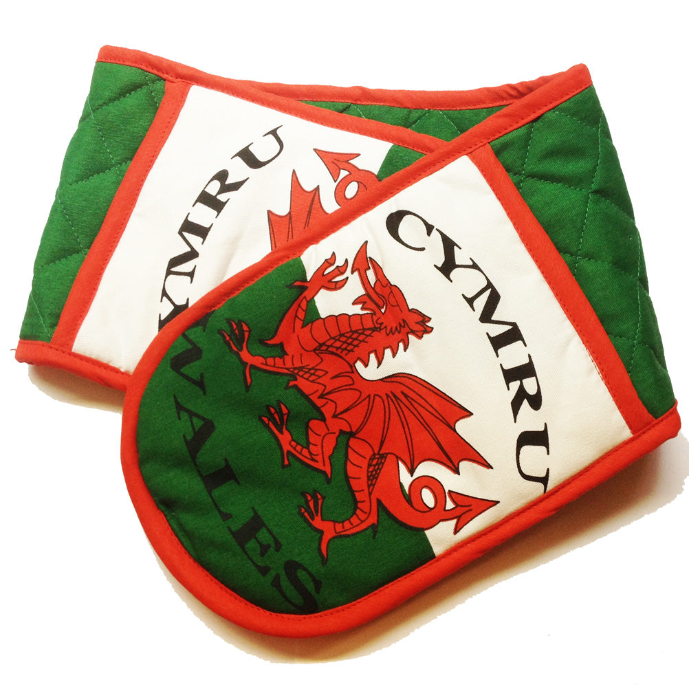 Wales Welsh Flag Double Oven Glove [wl123]