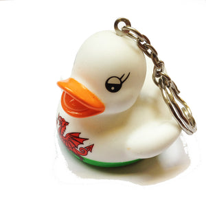 Wales Welsh Flag Mini Duck Keyring [wk262]