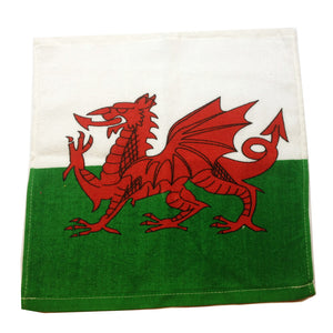 Wales Flag Face Flannel Cloth [wl54]