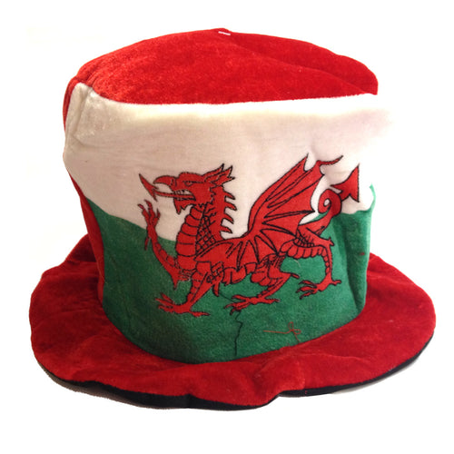 Wales Flag Supporter Soft Topper Hat [wa111]