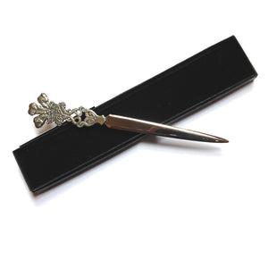 Wales Feathers Pewter Letter Opener [aew2017]