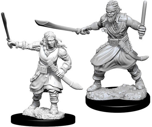 Nolzur's Marvelous Miniatures - Set of 2 Bandits - D&D table top gaming miniatures from Fandomonium