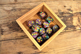 Chessex - Set of 12 D6 Dice Block - Festive Mosaic From Fandomonium