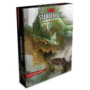 D&D Starter Set - Dungeons and Dragons - Wizards of the coast - Fandomonium