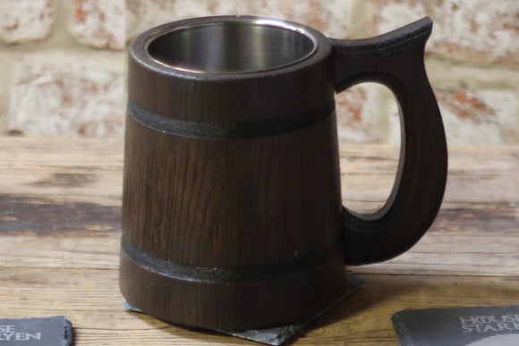 Dark Wood Tankard: Handle 2
