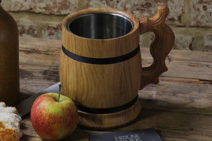 Light Wooden Tankard