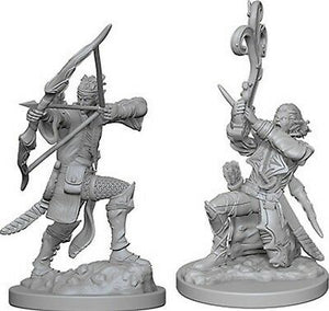 Male Elf Bard Nolzur's Marvelous Miniatures Set of 2 Official D&D Merchandise by Fandomonium