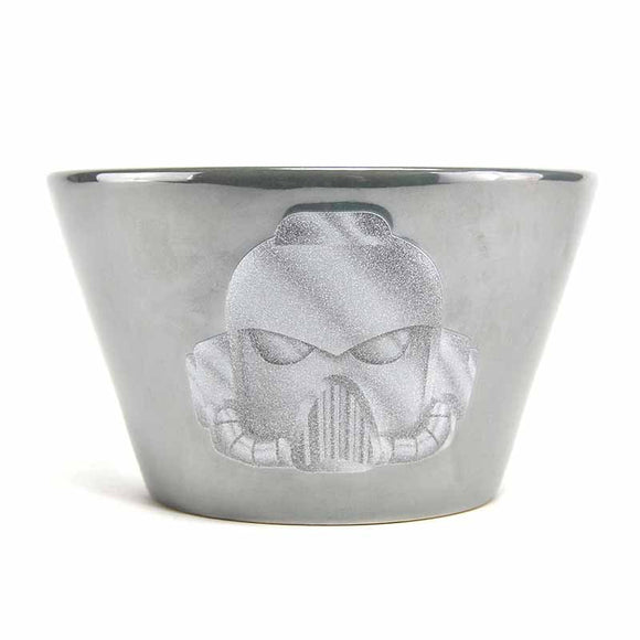 Warhammer Metallic Space Marine Ceramic Bowl