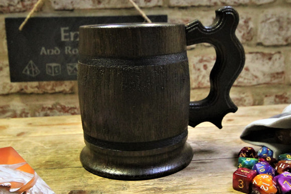Dark Wood Tankard: Handle 1