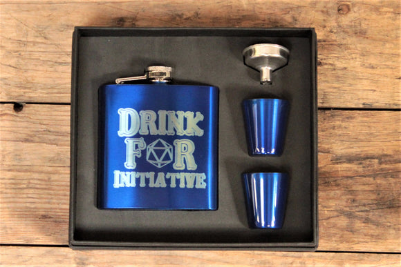 Drink For Initiative Hip Flask
