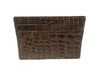 American Alligator Skin Card Case Cognac