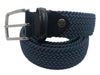 Cotton Stretch Belt Denim Blue