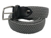 Cotton Stretch Belt Silver