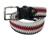 Cotton Stretch Belt Sailboat Stripes
