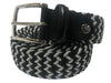 Cotton Stretch Belt Gray/Black