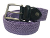 Cotton Stretch Belt Lavender