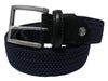 Cotton Stretch Belt Midnight Navy