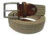 Cotton Stretch Belt Tan