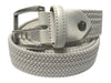 Cotton Stretch Belt White