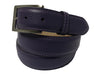 Calf Skin Pebble Belt Purple Classic