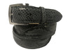 Python Skin Belt Gray/Black