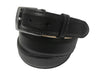 Calf Skin Pebble Belt Black Classic