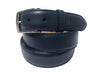 Calf Skin Pebble Belt Navy Classic