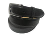 Calf Skin Solid Belt Black