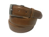 Calf Skin Solid Belt Tan