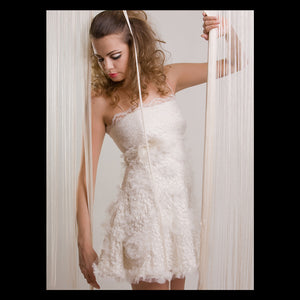 The Lace GRACE Mini Bridal Dress