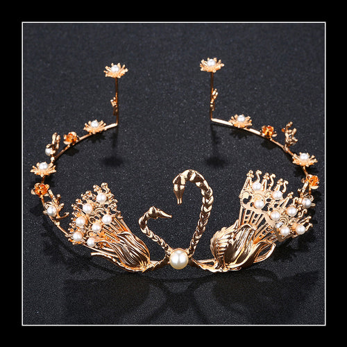 The Swans Hearts Golden Crown