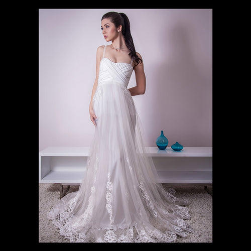 The White Lily Wedding Dress