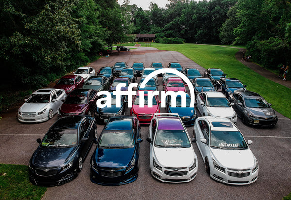 Affirm Financing is now available!