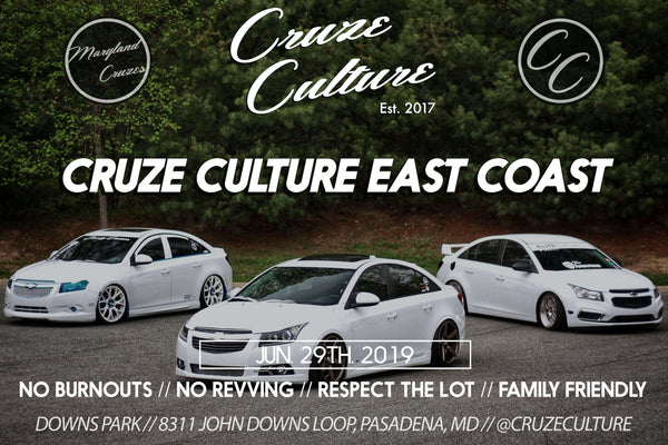 Cruze Culture East Coast 2019 Meet