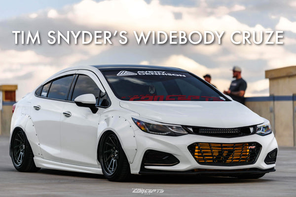 "Tim Snyder's ""Widebody"" Cruze"