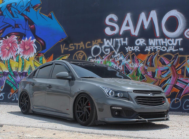 11-16 Chevrolet Cruze Cruze Culture Aluminum Side Skirts