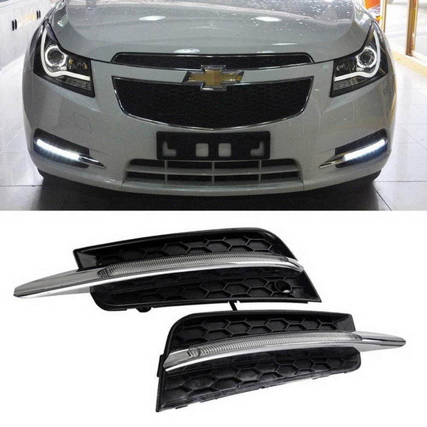 11-14 Chevrolet Cruze iJDMToy Switchback LED Daytime Running Light Kit