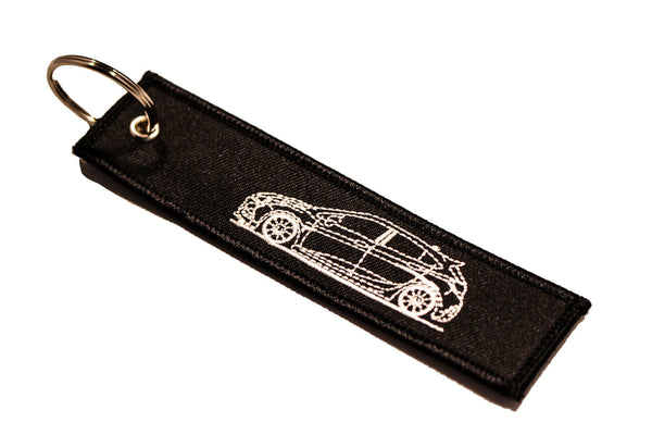 2nd Gen Hatch Sideview Street Style Key Tag
