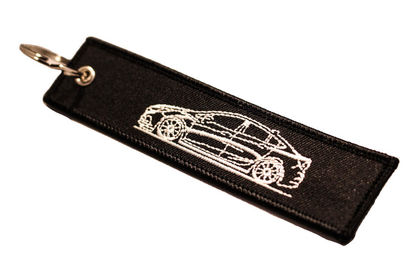 2nd Gen Sedan Sideview Street Style Key Tag