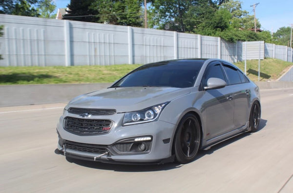 11-16 Chevrolet Cruze Family Customs Aluminum Side Skirts