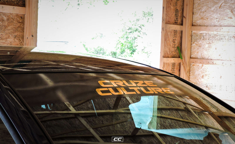 Cruze Culture Stacked Windshield Banner