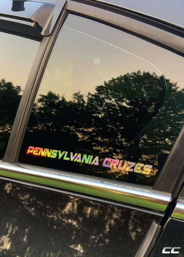 Rep Your State Sticker
