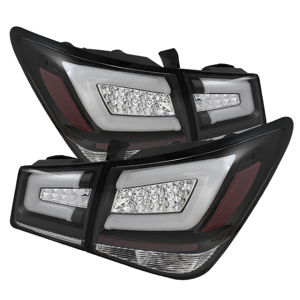 11-16 Chevrolet Cruze Spyder Tail Lights - Black